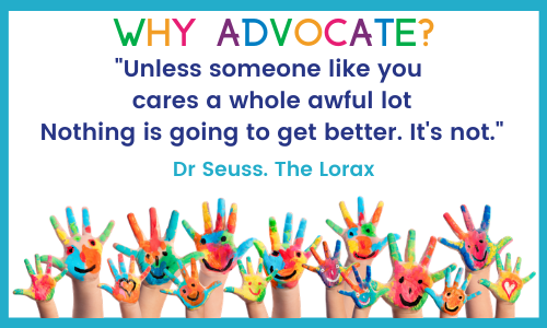 Why Advocate - Dr Seuss