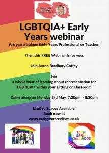Aaron LGBTQIA Webinar